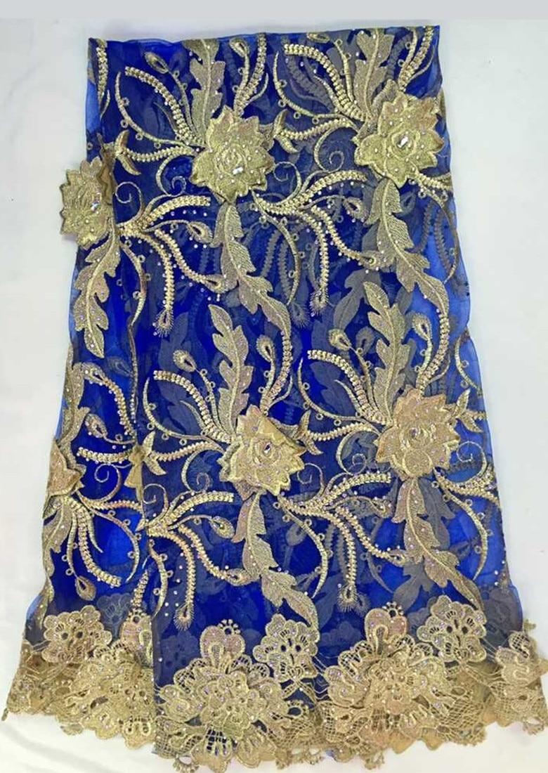 골드 라인 스톤 다이아몬드 아프리카 고품질의 프랑스 그물 레이스 스위스 voile 레이스 원단 드레스 5yd/lot 무료 배송 hdl101-에서레이스부터 홈 & 가든 의  그룹 1
