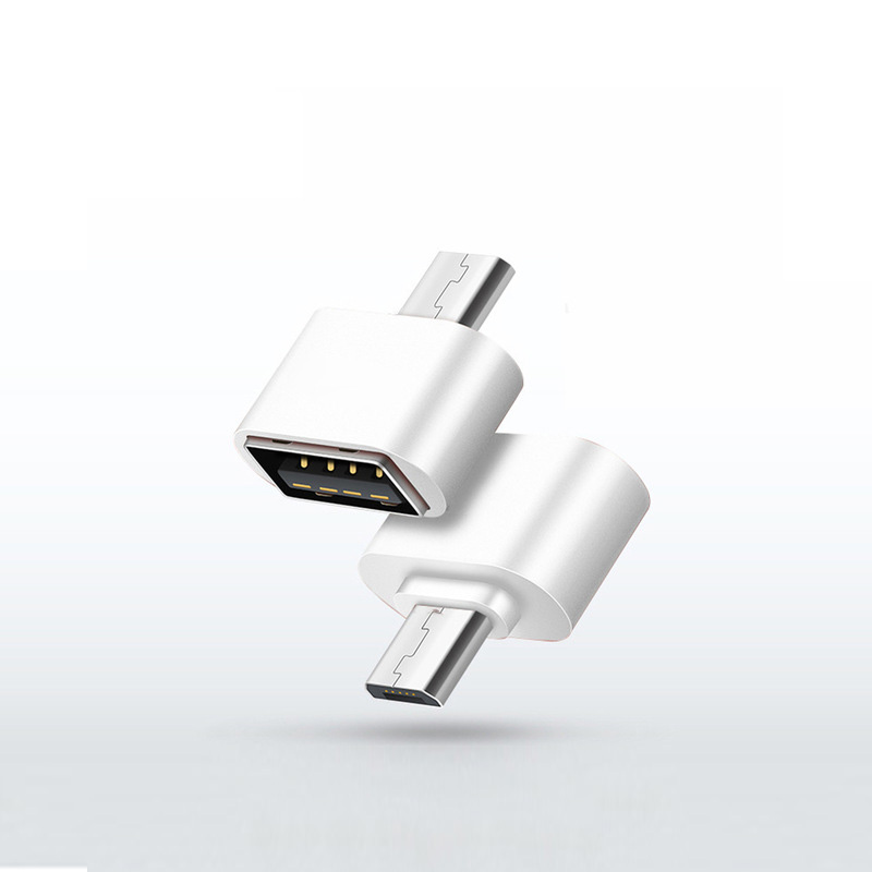 Micro USB Adapter USB To MicroUSB Adapter Cable Converter For Pendrive USB Flash Drive To Phone Mouse KeyBoard OTG