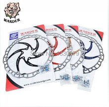 WDR-01  Disc Brake Rotor 203mm 1pcs & 6 Bolts bike disc brake rotor Resin Pad Only, brakes mountain parts for shimano