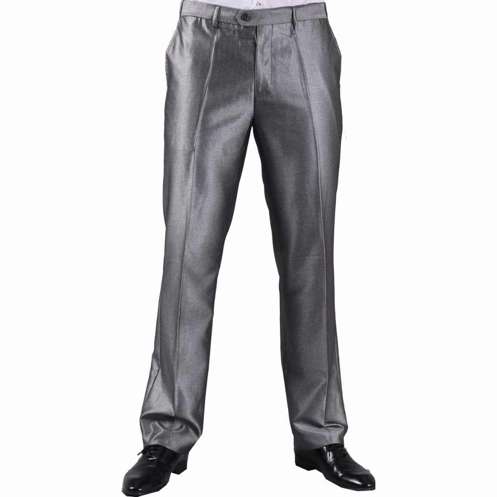 Men Suit Pants 2015 High Quality Breathable  Anti-static Formal Suit Pants Straight Business Pants M0216