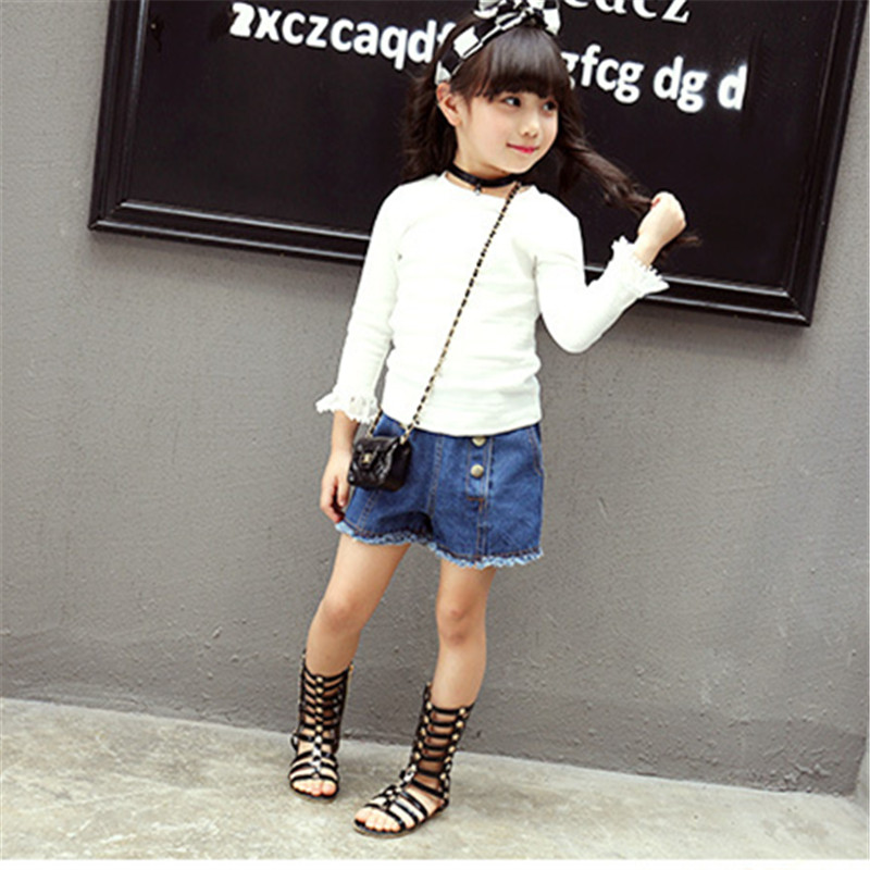 2018 New Summer Girls Long Sandals Hollow Woven princess Shoes Side zipper Fashion Baby Boots Girl High Tube Cool Shoes A13 10