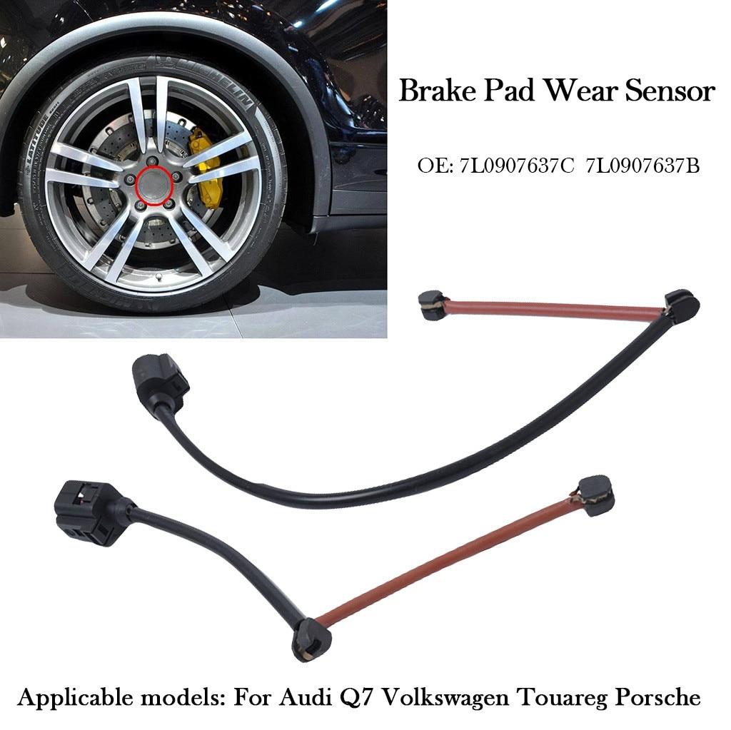 Front Disc Brake Pad Wear Sensor for Audi Q7 Porsche Cayenne VW Touareg