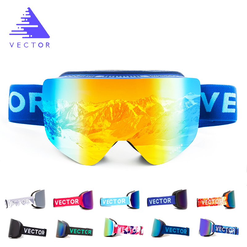 OTG Ski Goggles Snow Glasses Men Skibrille Anti-fog Coatings Skateboard Snowboard Skiing Women Sunglasses Outdoor Winter Sport