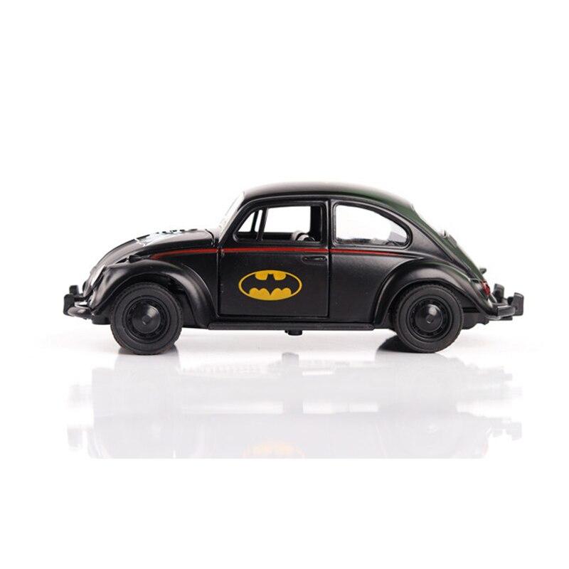 Hot Wheels 1:36 Масштаб сплава задерживаете Бэтмен Жук коллекция металлические Конструкторы для детей Oyuncak подарок бесплатная доставка ...