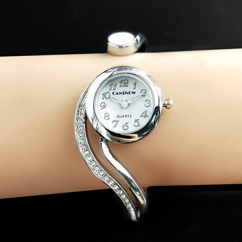 Reloj Mujer  Luxury Rose Gold Dial Women Watches Full Steel Analog Quartz Wristwatch Hot Montre Femme 2019
