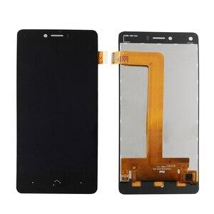Image 1 - 대 한 BQ Aquaris U U Lite U plus LCD + touch screen components Mobile communication 액세서리 교체 + free 툴
