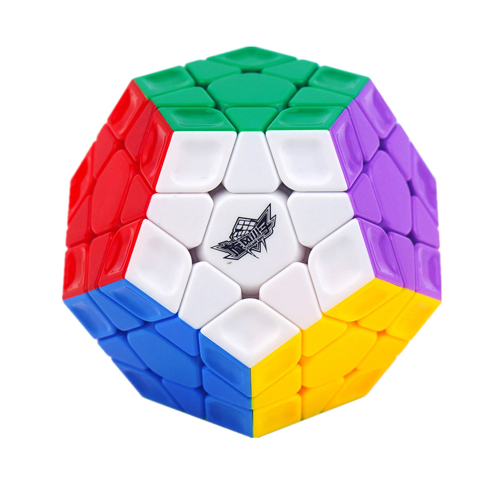 Cyclone Boy Megaminx Cube 3x3 Megaminx Magic Cube 3Layers Wumofang Speed Cube Professional Puzzle Toys For Children Kids Gift