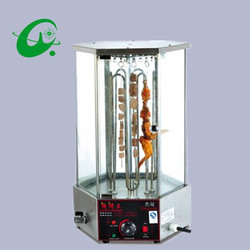 Automatic Rotary Mutton String Roaster Commercial rotary kebab Grill  electrical  kebab machine