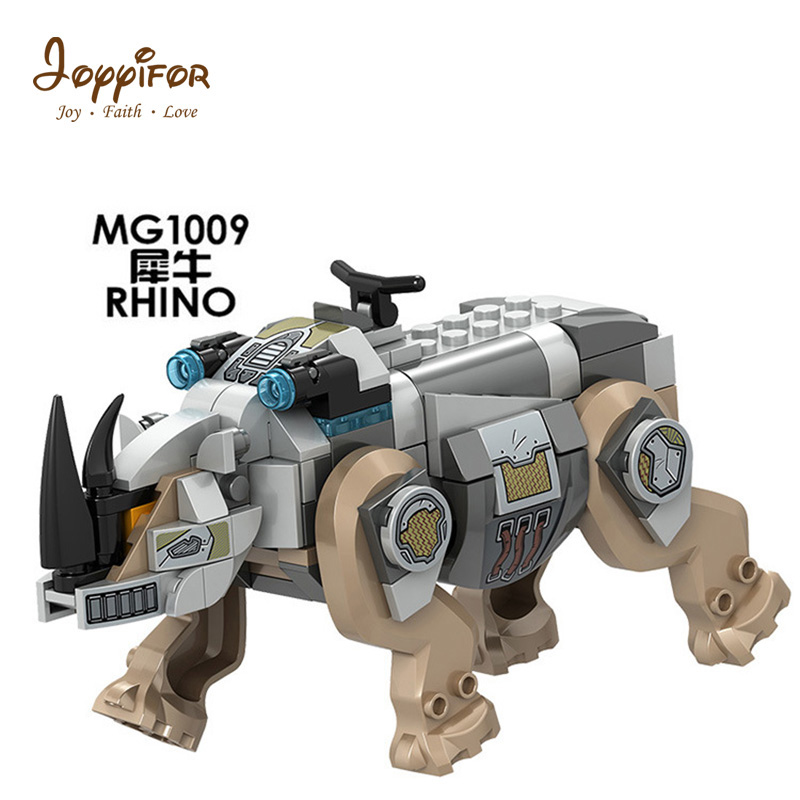 Toys & Hobbies Smart Imperial Dc Marvel Hero Collectible Building Blocks Compatible With Legoingly Military Soldiers Mg1009 Rhino Beneficial To The Sperm
