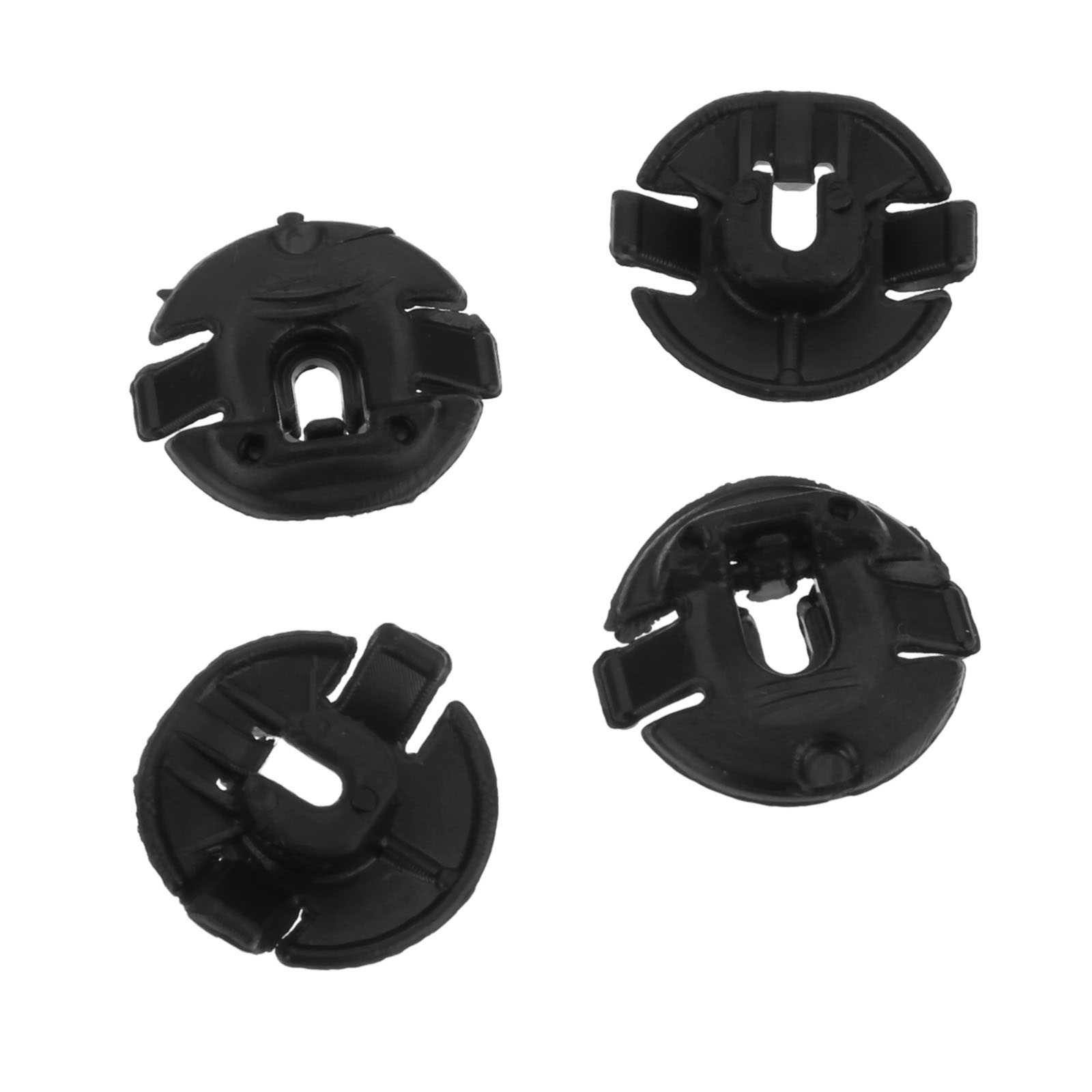 Wings Linings /& Panels 50x Skoda Plastic Nut Grommet for Bumpers Wheel Arches