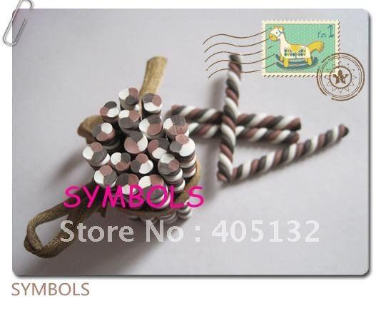 M-34 100 шт 5 мм Твист Полимерная глина трость Необычные дизайн ногтей Полимерная глина трость