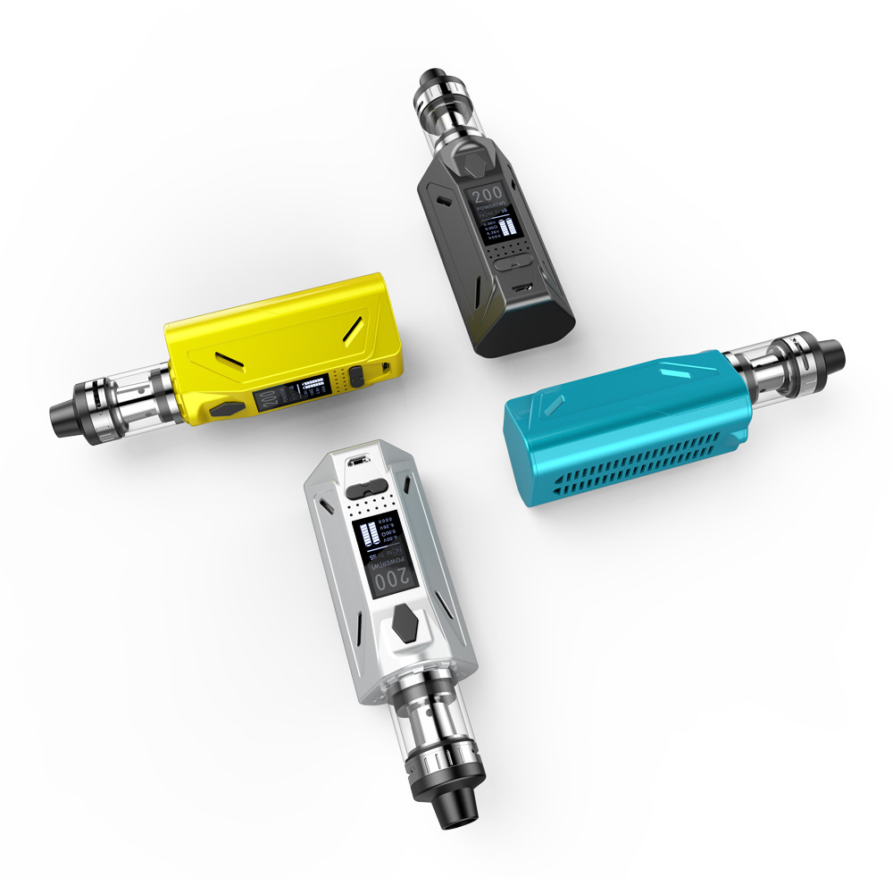 200W TC 3000 MAh Electronic Vape Pen Starter Smart Control E Pen 4ml Tank Electronic Cigarette Vaporizador E Cigarette Vapeador
