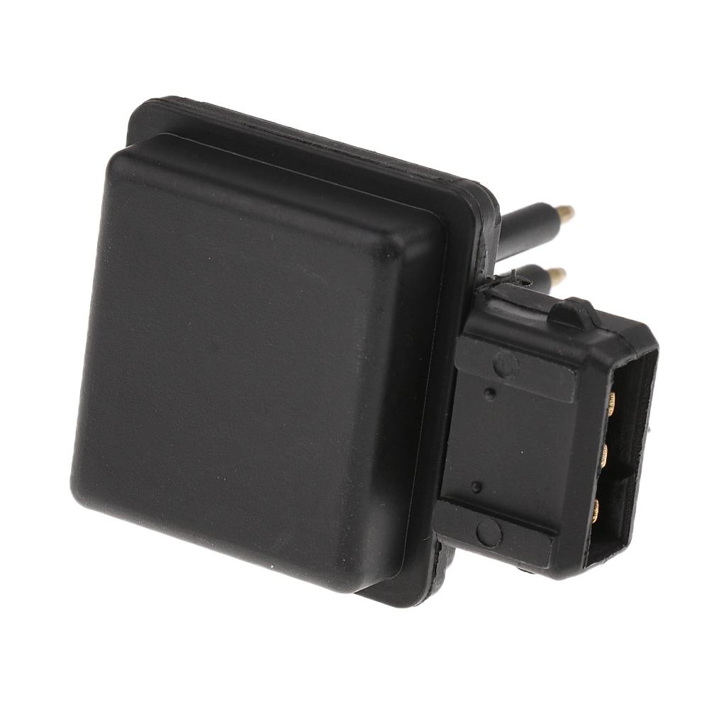 1 Piece 63299058 Plastic Coolant Level Sensor Water Radiator Detector 9646902580 for Peugeot 5.3x3.8x6.3cm Black