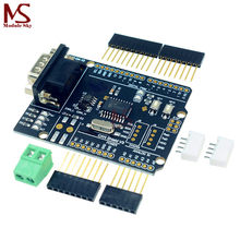MCP2515 Can Bus Shield Board Module 4.8-5.2V SUB-D Connector Standard UART IIC SPI LED Indicator Controller CAN For Arduino(China)
