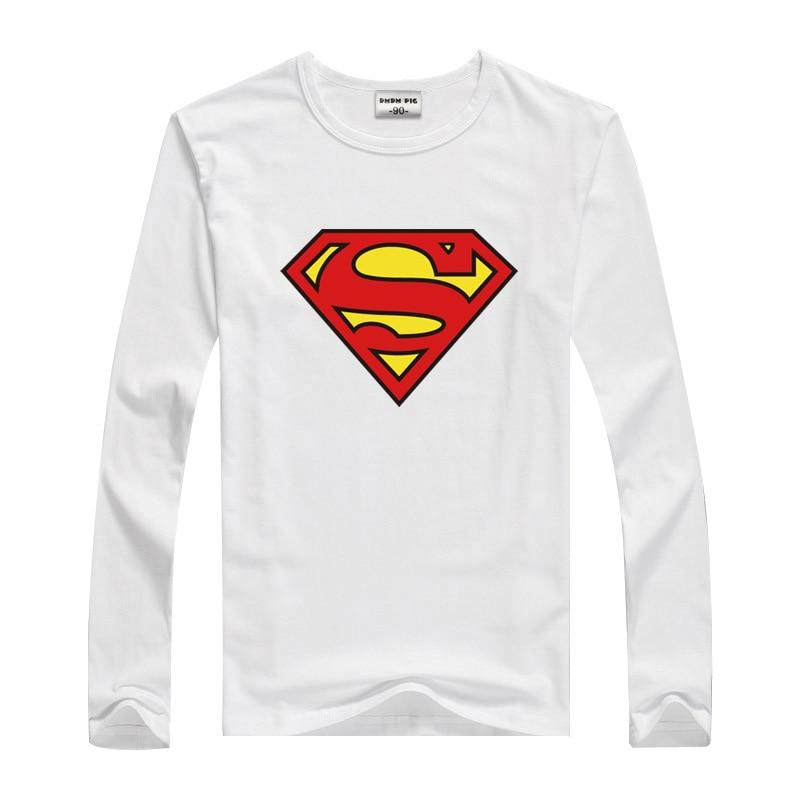 DMDM PIG Toddler Boys Tshirts Girl Tshirt Children Tops Long Sleeve T Shirt For Boys Kids Batman Superman Clothes 2 3 5 8 Years 17