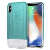 100% Original SPIGEN Classic C1 [10th Anniversary Limited Edition] Cases for iPhone XS / X