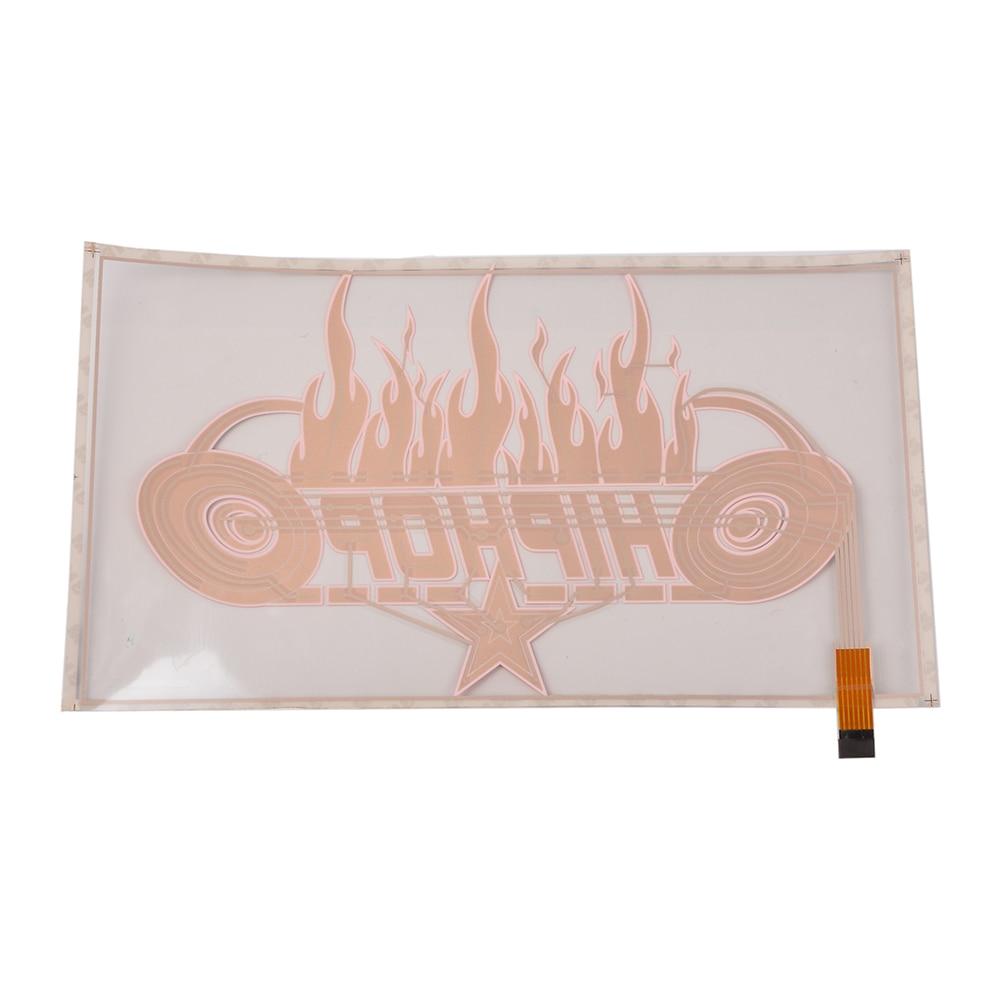 46cm*25.3cm Sound Rhythm Music Activated Car Sticker LED Colorful Flame Flash light Car accessories 2000H