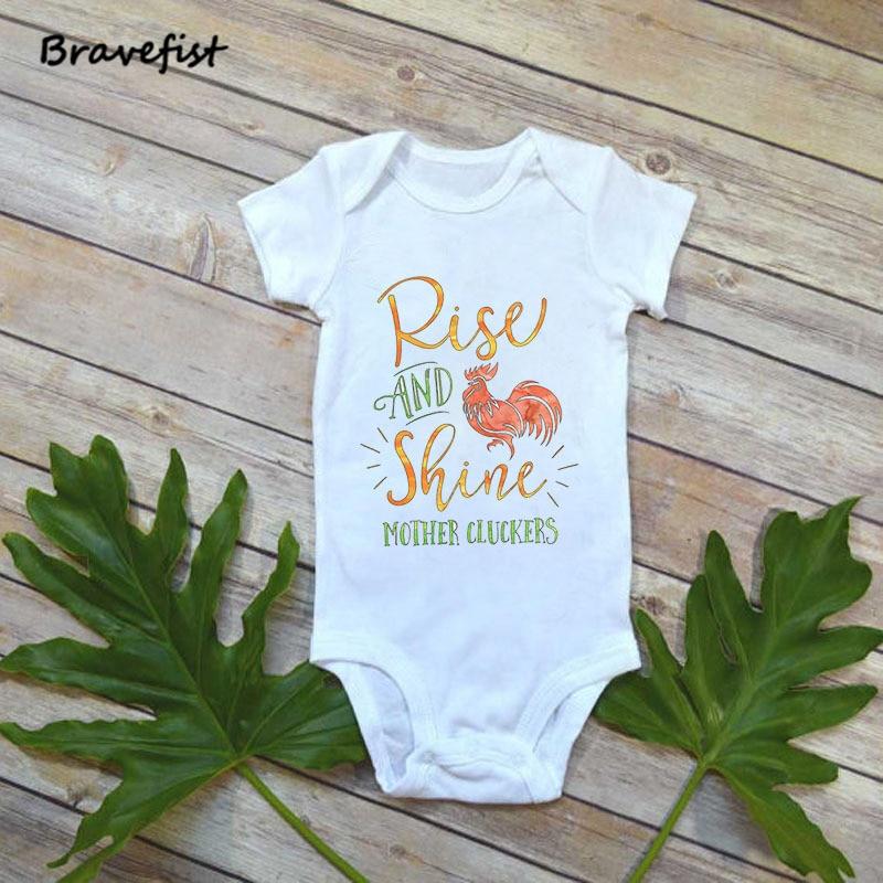 Halstücher Bekleidung Baby Infant Kleinkind Long Sleeve Buchstabe Print Strampelanzug Overall Bodysuit