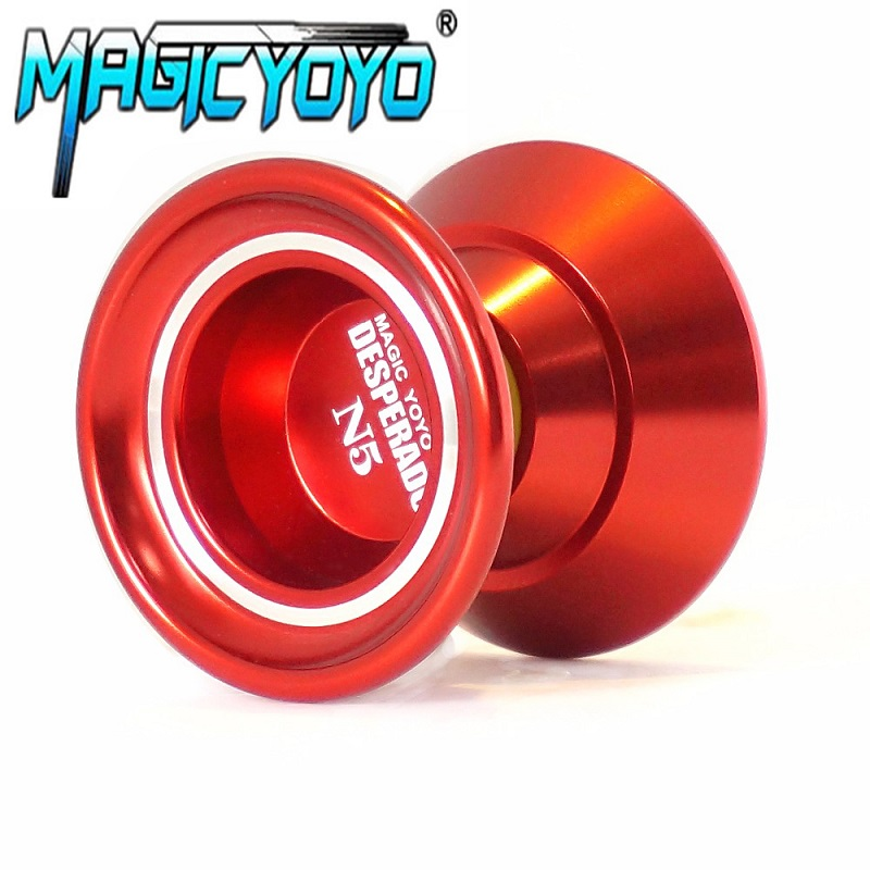MAGICYOYO yoyo Professional Yo-yo Alloy Aluminum diabolo High quality magic yo yo N5 3 colors classic toys