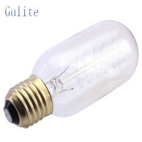 LightInBox 40W 220V Retro Edison T45 Art Decoration Light Bulb E27 Incandescent Vintage Bulb Wholesale Price 40piece