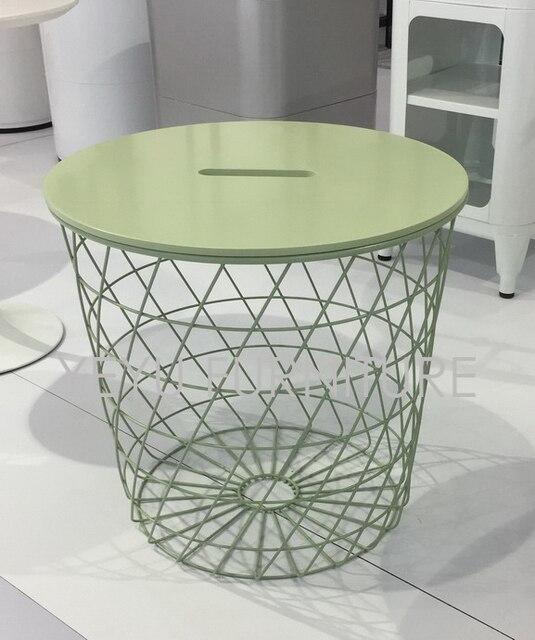 Diámetro 44 cm moderno minimalismo Europa almacenamiento mesa ...