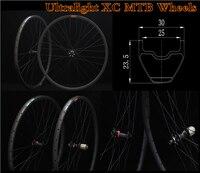 30*23.5mm 29er super light mountain bike wheelset carbon bicycle MTB wheel 29inch mountain bike hookless bicycle rims