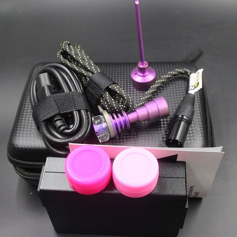Kit d'ongle E avec capuchon de carburateur à ongles en quartz titane Gr2 pour pipe à eau en verre tuyaux de fumage en verre comme cadeau de noël - 4