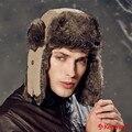Invierno Kenmont Unisex Hombres Mujeres Orejeras de Piel Falsa Sombrero Del Trampero Del Bombardero del Aviador Caliente Al Aire Libre de Esquí Cap 2157