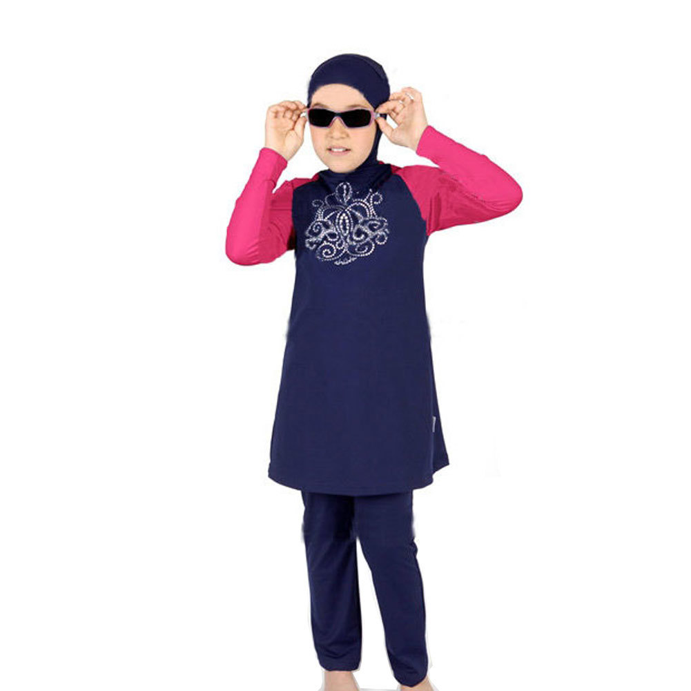 Strollers Accessories Latest Premium Modesty Muslim Women Swimwear Swimsuit Islamic Beachwear Set Activity & Gear