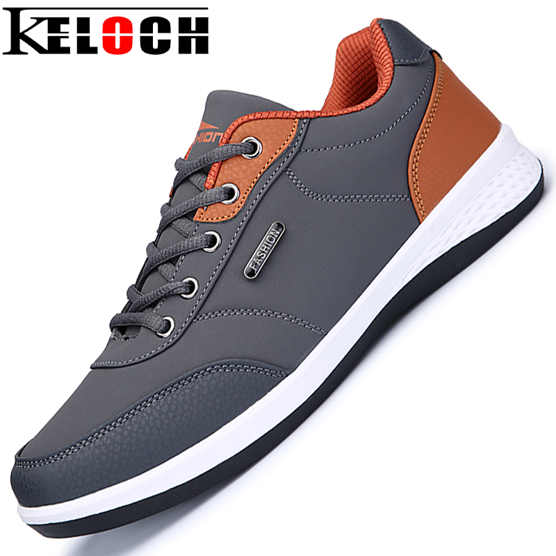 Keloch MenS Sport Running Shoes Happy Rhythm Men Sneakers Breathable Mesh Outdoor Athletic Shoe Lace-Up Light Male Shoes