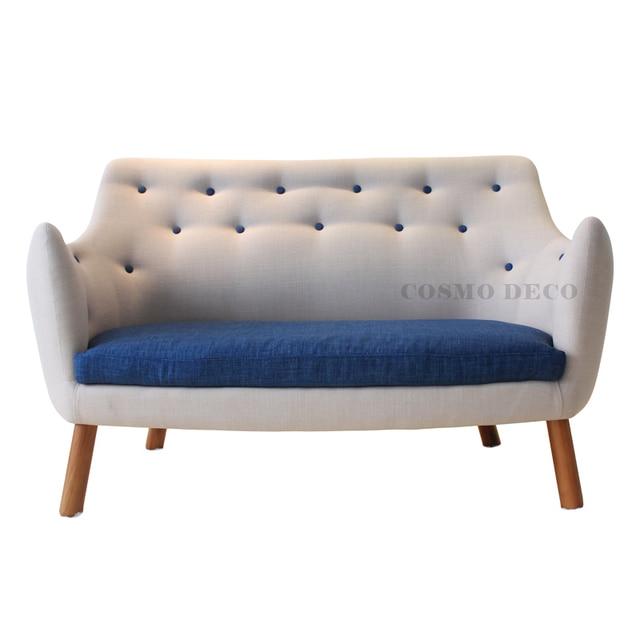 Superb North European Style Furniture/simple/modern/cloth Sofa/coffee Shop Decoration  Sofa