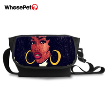 WHOSEPET African Girls Style Cross Body Bags For Women Fashion Messenger Multi-function Casual Shoulder Shopping