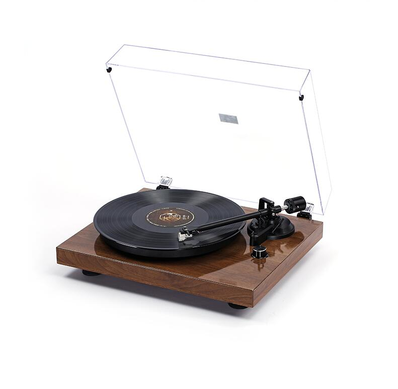 XH Turntable LP Vinyl Gramophone Bluetooth Record Player Metal Vinyl Player