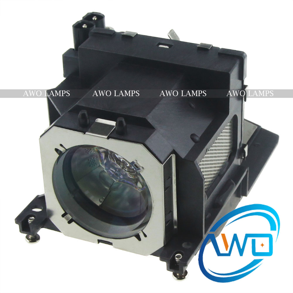 AWO ET-LAV200 Replacement Projector Lamp with Housing for PANASONIC PT-VW435N PT-VW431D PT-VW440 PT-VX505N PT-VX500 PT-VX510 new original black full lcd display