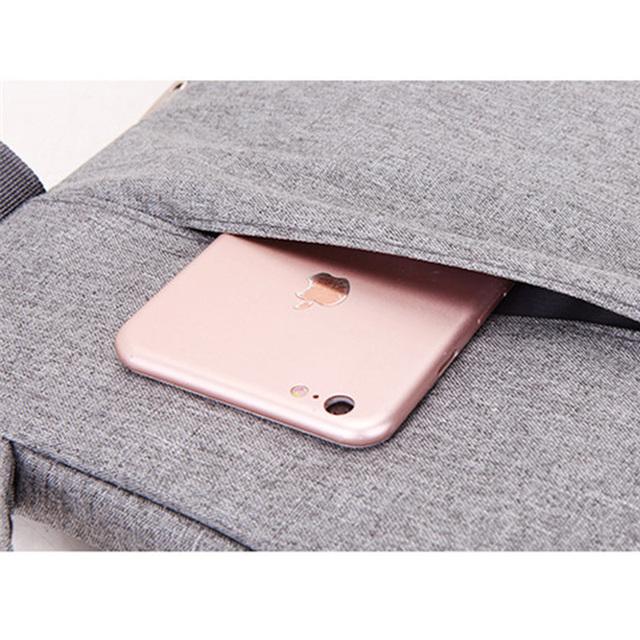 Laptop Messenger Bag 13 14 15.6 inchs for Macbook Pro 13 Laptop Case 13.3″ Bag for Notebook Universal Protective Case 15.6″