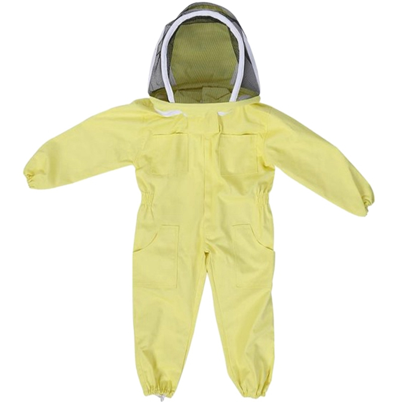 Professional Child Beekeeping Protective Suit Bee Beekeepers Bee Suit Equipment Farm Visitor Protect Beekeeping Suit L