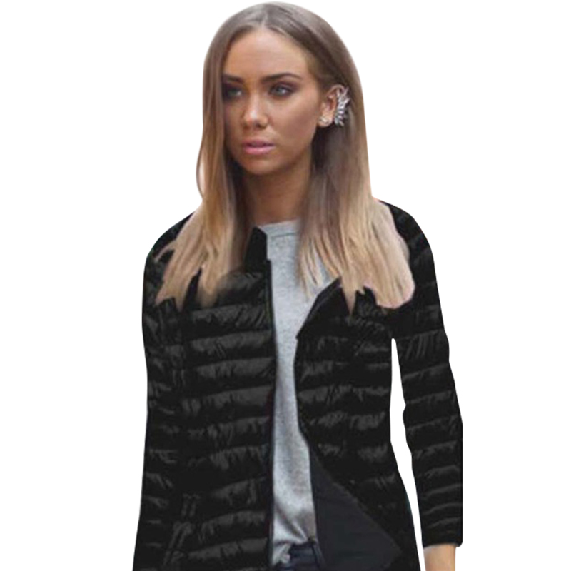 Women Long Sleeve Slim Coat Jacket Zipper Long-Sleeved Striped Outwear Coat Plus Size LJ7730M