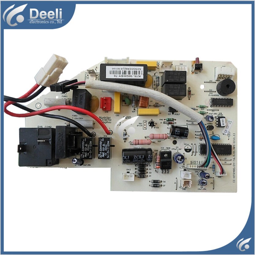 95% new good working for air conditioning board KFR-50GW/DY-T6 KFR-43G/DY-T6 CE-KFR48G/DY-T6 control board indoor air conditioning parts mpu kfr 35gw dy t1 computer board kfr 35gw dy t used disassemble