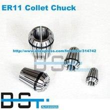 ER11 цанговый патрон Весна(0,5-7 мм) для мотор шпинделя/гравировка фрезерный/шлифовальный/скучно/сверления/Нажатие