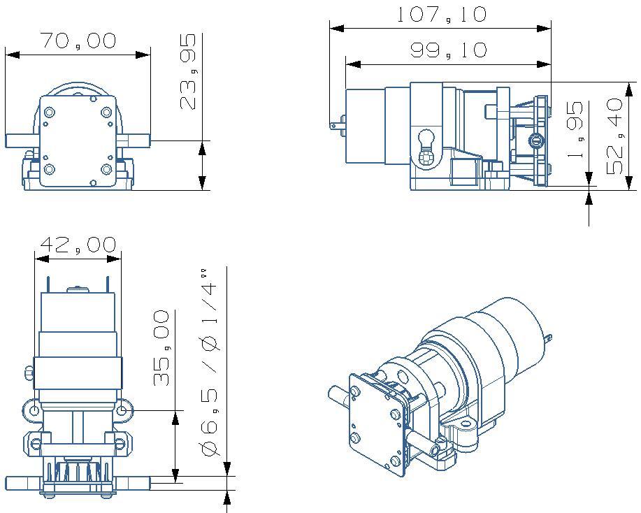 Us 3500 Heißer Wasser ölige Flüssigkeit Benzin Und Diesel Lösungsmittel Dc 12 V24 V Elektrische Chemische Pumpe 15lmin In Heißer Wasser