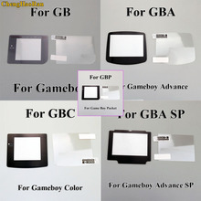 1set Plastic Screen with LCD Protector Protective Film for Gameboy Color GBA SP GBC GB GBP GBM Console