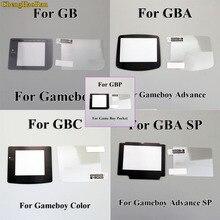 1set écran en plastique avec LCD protecteur décran Film de protection pour Gameboy couleur pour GBA GBA SP GBC GB GBP pour GBM Console