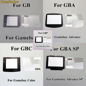 Image 1 - 1set plastik ekran LCD ekran koruyucu koruyucu film Gameboy renk GBA GBA SP GBC GB GBP için GBM konsolu
