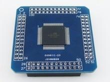 Free shipping  5PCS  ATxmega128A-AU XMEGA AVR development board core board minimum system board