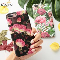 KISSCASE For Case iPhone 7 Fashion Leaf Hard PC Back Cover For iPhone 7 Plus Phone Case Fundas For iPhone 7Plus iPhone7 Coque 1
