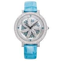 Rose Gold Watch Ladies Dress Quartz Watch Women Brand Belt Bracelet Watch Fashion FUYIJIA Lady Waterproof