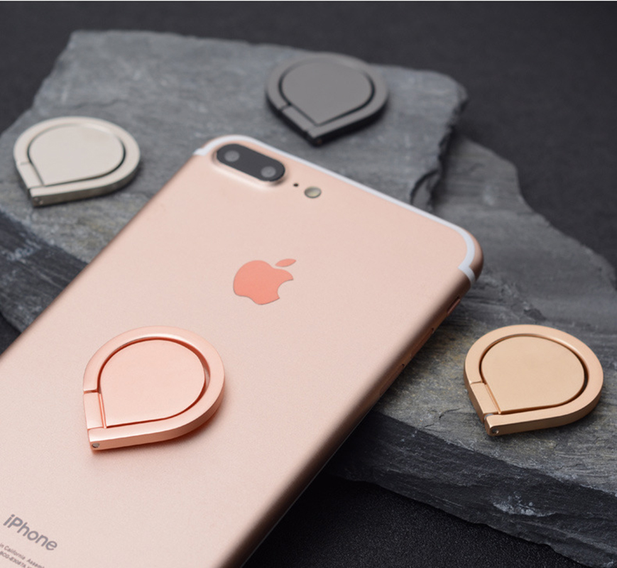 Universal water drops Finger Ring holder Mobile Phone Smartphone Stand Holder for ZTE Blade L370 L4 Pro M Q lux S6 Plus lite S7