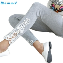 Free Size Cotton Leggins Women Spring Elastic Pants 2016 New Leggings Wear to Casual Leggings Mujer