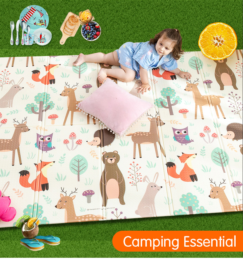 HTB1GASPcBiE3KVjSZFMq6zQhVXaY Infant Shining Baby Play Mat Xpe Puzzle Children's Mat Thickened Tapete Infantil Baby Room Crawling Pad Folding Mat Baby Carpet