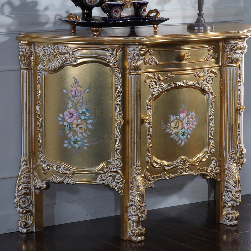 Baroque furniture twin bed baroque style furniture for Cheap baroque style furniture